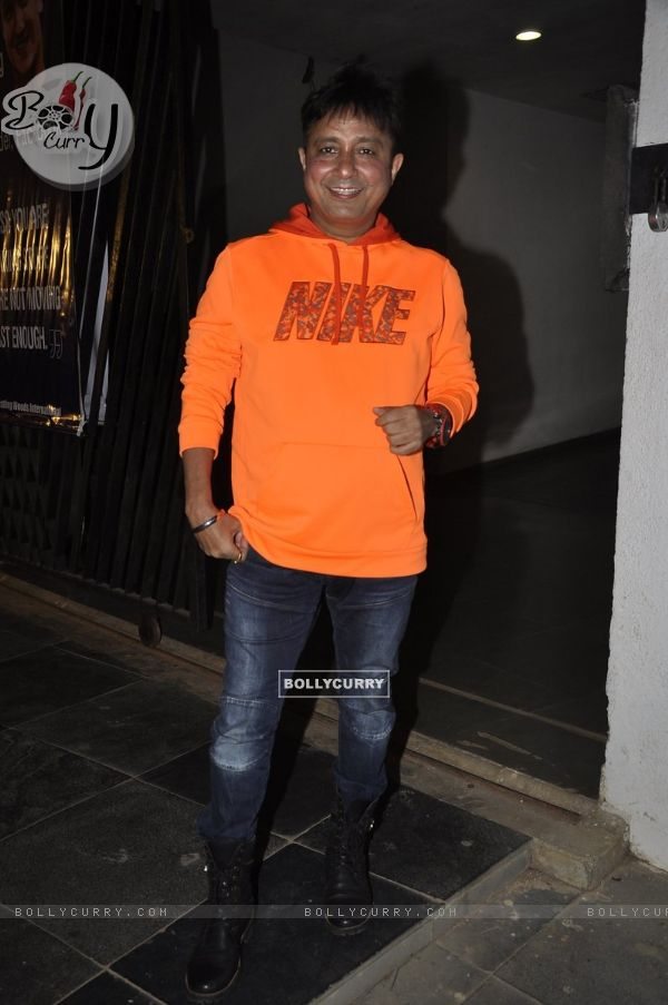 Sukhwinder Singh at Subhash Ghai's 71st Birthday Celebration