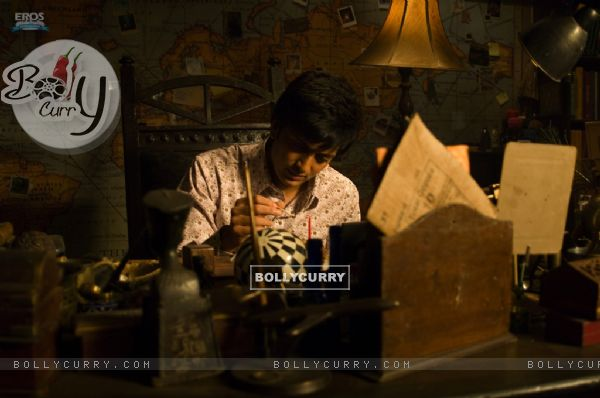 Ritesh Deshmukh doing experiments