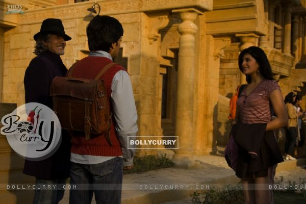 Ritesh introduces Amitabh to Jacqueline