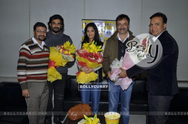 Aamir Khan at Pre Release Screening of 'Saala Khadoos' with Raju Hirani, Madhavan and Ritika