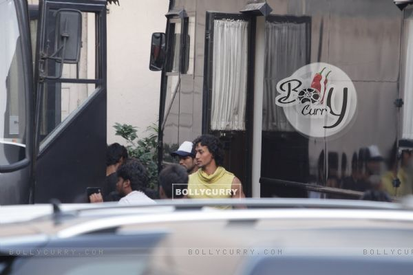 Tiger Shroff Snapped Shooting for Baaghi in Mumbai (393726)