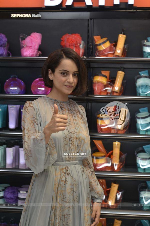 Kangana Ranaut at Sephora Store Launch