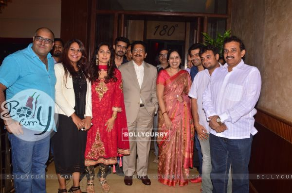 Juhi Chawla With Governor Of Maharashtra At Chalk N Duster Screening