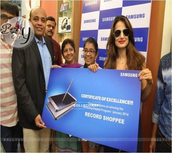 Ameesha Patel at Samsung Galaxy Event