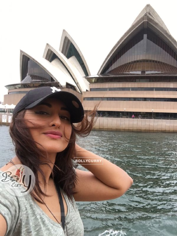 Sonakshi Sinha Goes Scuba Diving in Sydney