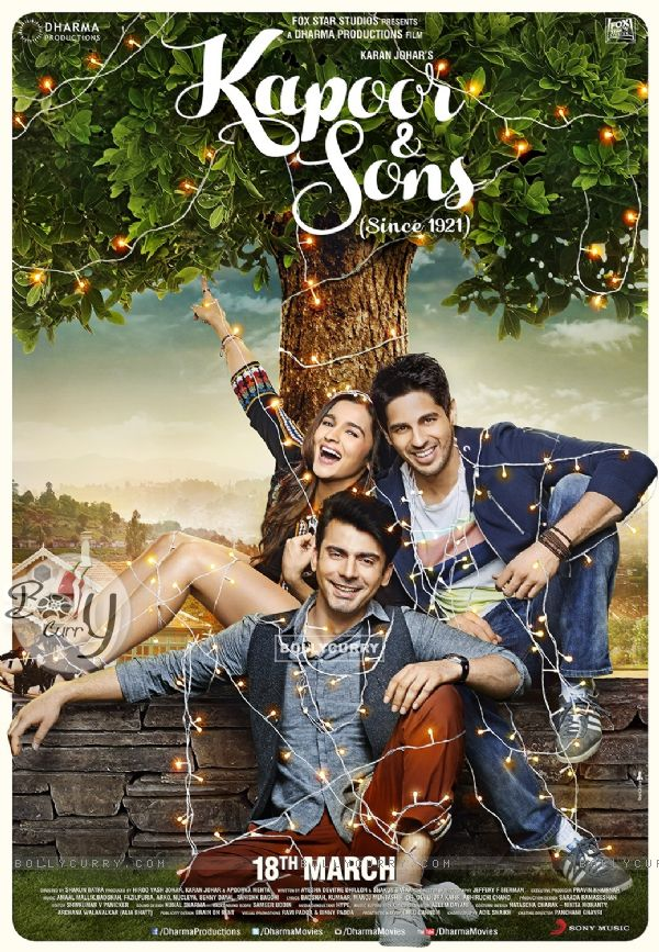 Kapoor & Sons Second Poster (394324)