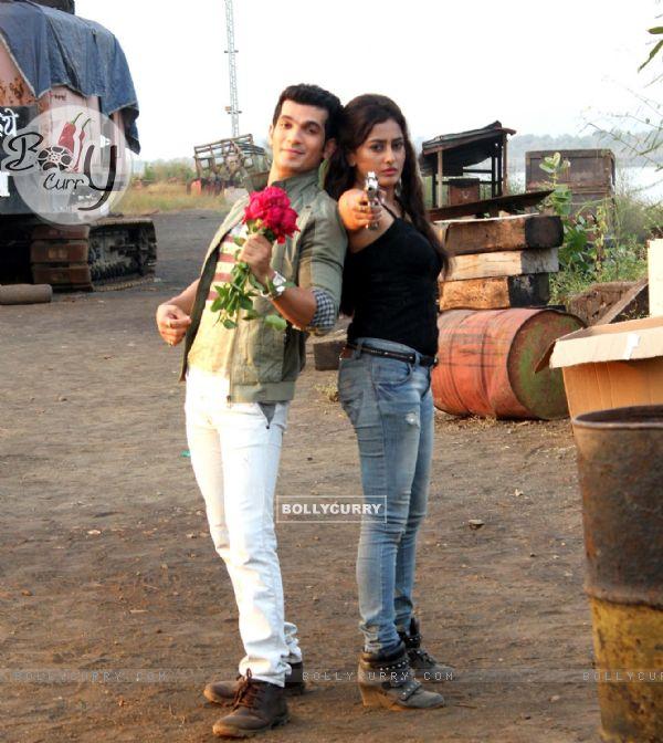 Arjun Bijlani and Nidhi Subbaiah at Direct Ishq