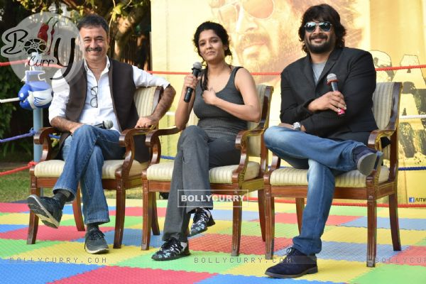 Promotions of Saala Khadoos with Ritika Singh and R Madhavan