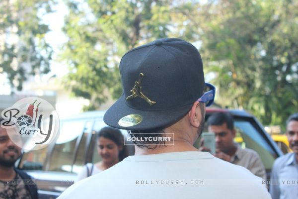 Honey Singh Snapped at Airport