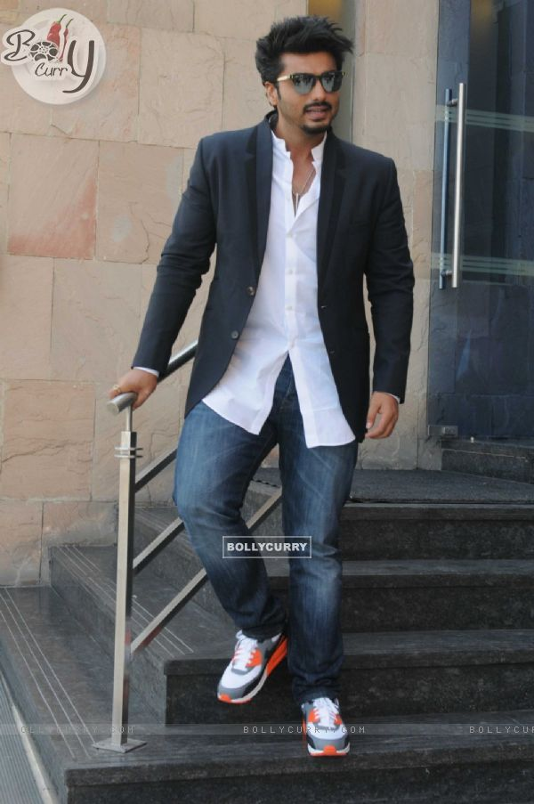 Arjun Kapoor Promotes Khatron Ke Khiladi 7 in Delhi