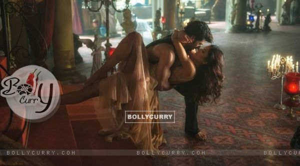 A Still of Aditya Roy Kapoor and Katrina Kaif in Fitoor