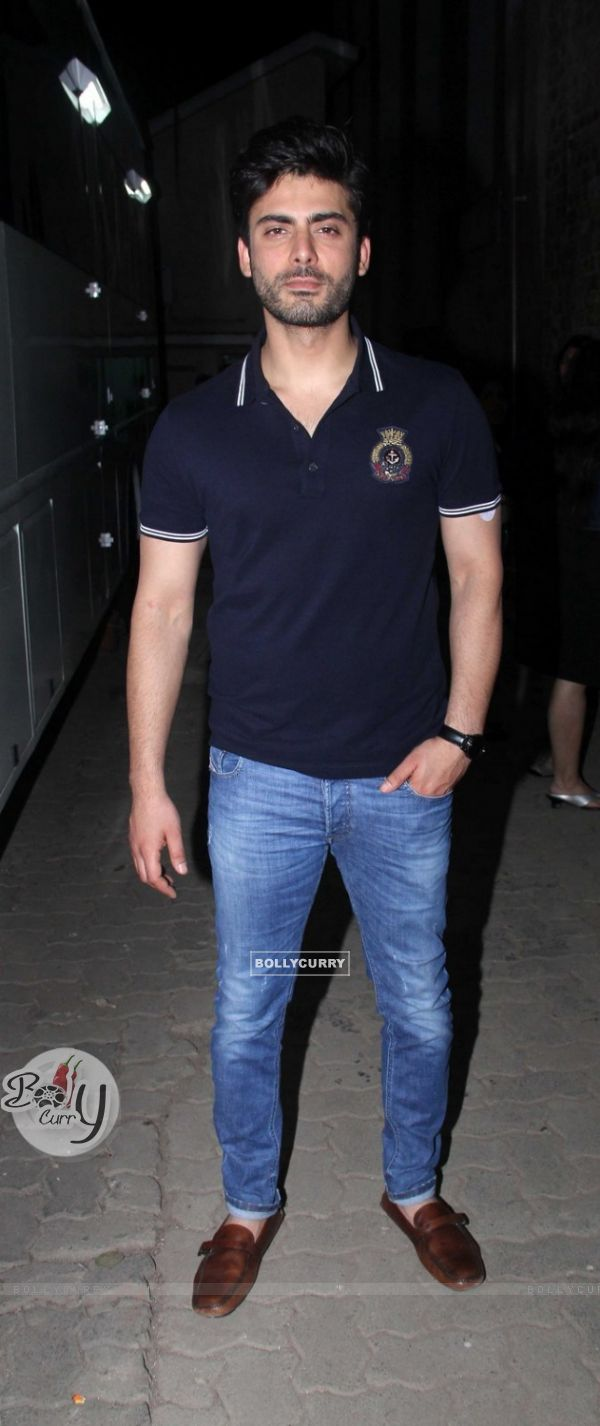 Fawad Khan Snapped at a Shoot