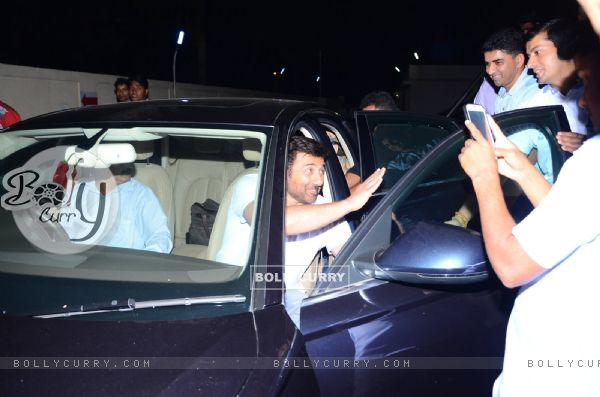 Sunny Deol Snapped at PVR Cinemas - for Ghayal Once Again