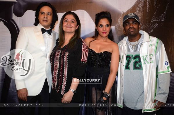 Rahul Roy, Richa Chadda and Pooja Bhatt at Launch of film 'Cabaret' & On Location Shoot!