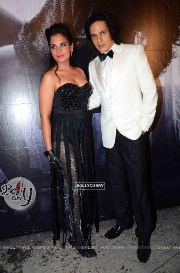 Richa Chadda and Rahul Roy at Launch of film 'Cabaret' & On Location Shoot!