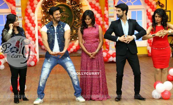 Direct Ishq Promotions: Rajneesh Duggal, Karan Wahi, Nidhi Subbaiah and Sugandha Mishra