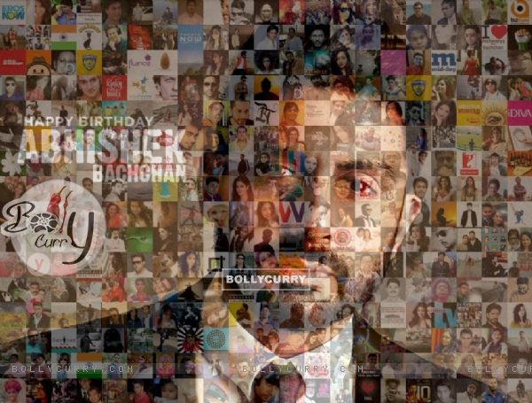 A beautiful mosaic lights up Abhishek Bachchan's birthday
