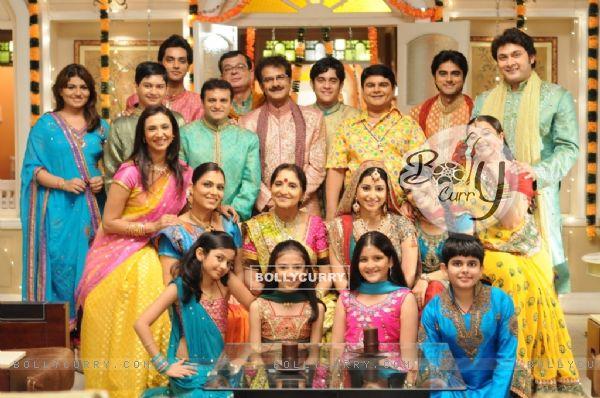 All cast of Baa Bahu Aur Baby show