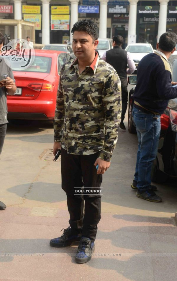 Bhushan Kumar at Promotions of 'Sanam Re' in Delhi