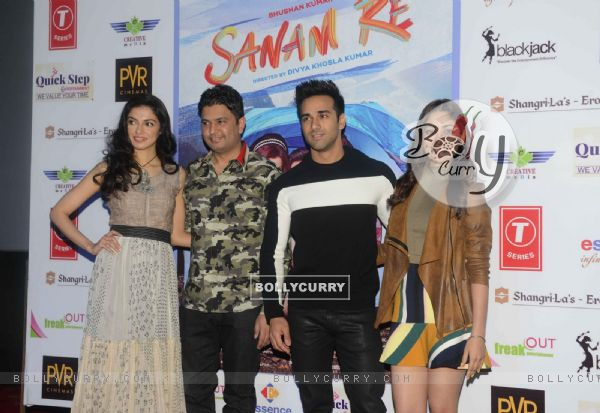 Delhi Promotions of 'Sanam Re': Bhushan Kumar, Divya Khosla, Pulkit Samrat and Yami Gautam