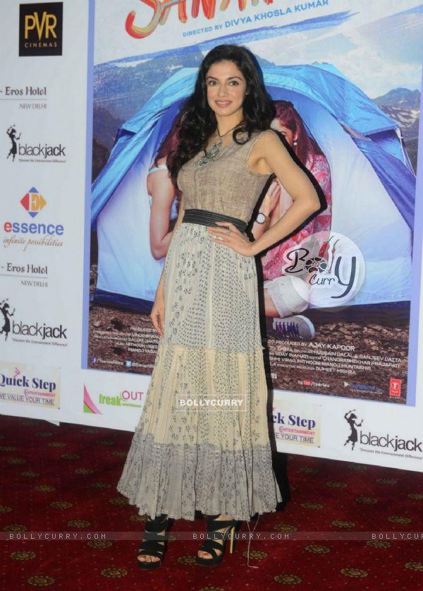 Divya Khosla Kumar at Promotions of 'Sanam Re' in Delhi