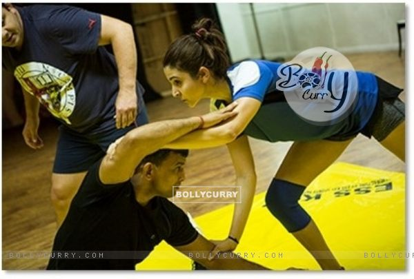 Anushka Sharma Practices for Sultan