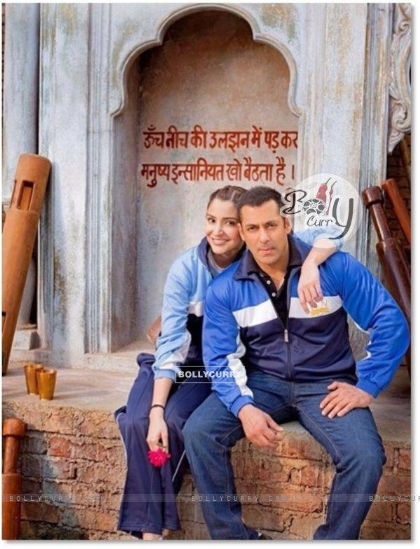 First Look of Salman Khan and Anushka Sharma in Sultan