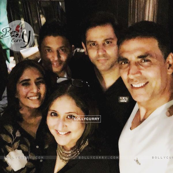 Ajay Kapoor OF T-Series Celebrates the Success of Film Airlift with Akshay Kumar