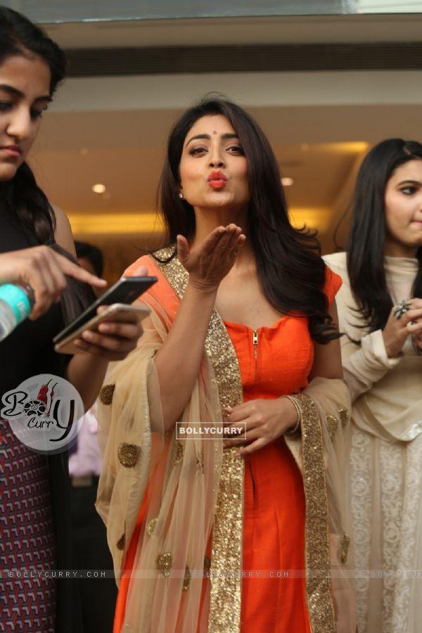 Stunning Beauty Shriya Saran at The Label Bazaar Curtain Raiser Event