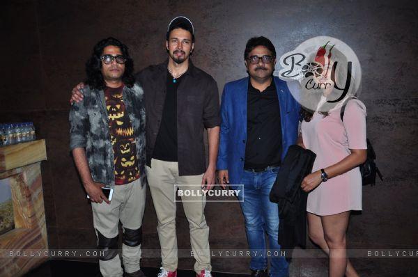 Rajneesh Duggal and Nidhi Subbaiah at Special Screening of Direct Ishq