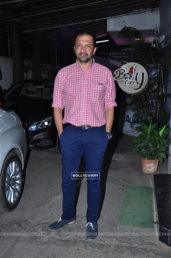 Atul Kasbekar at Aligarh Film Screening