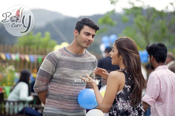 Alia Bhatt and Fawad Khan in Kapoor & Sons