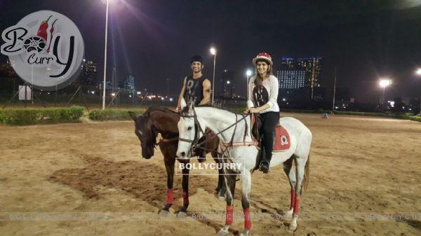 Sushant Singh Rajput and Kriti Sanon shoot for Raabta