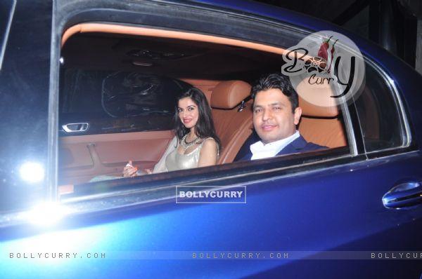 Bhushan Kumar and Divya Khosla at Dr. Agarwal's Daughter's Wedding