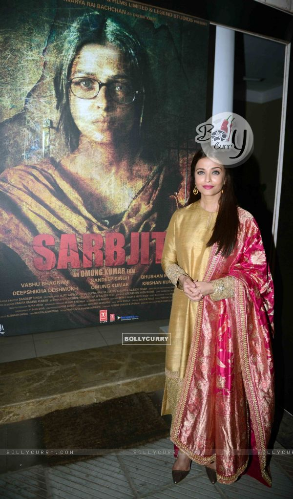 Aishwarya Rai Bachchan at Poster Launch of 'Sarabjit' (398068)