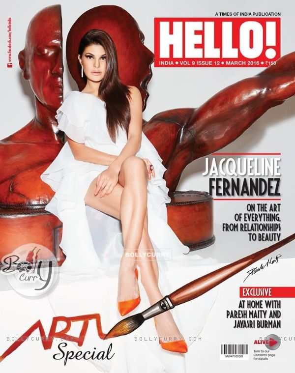 Jacqueline Fernandes on 'Hello Magazine'