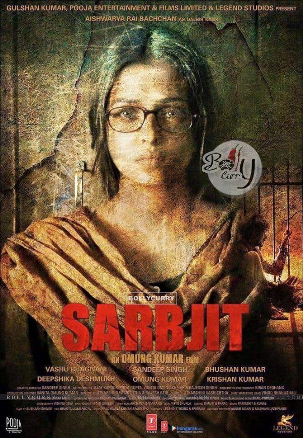 Aishwarya Rai in First Poster of Sarabjit (398142)