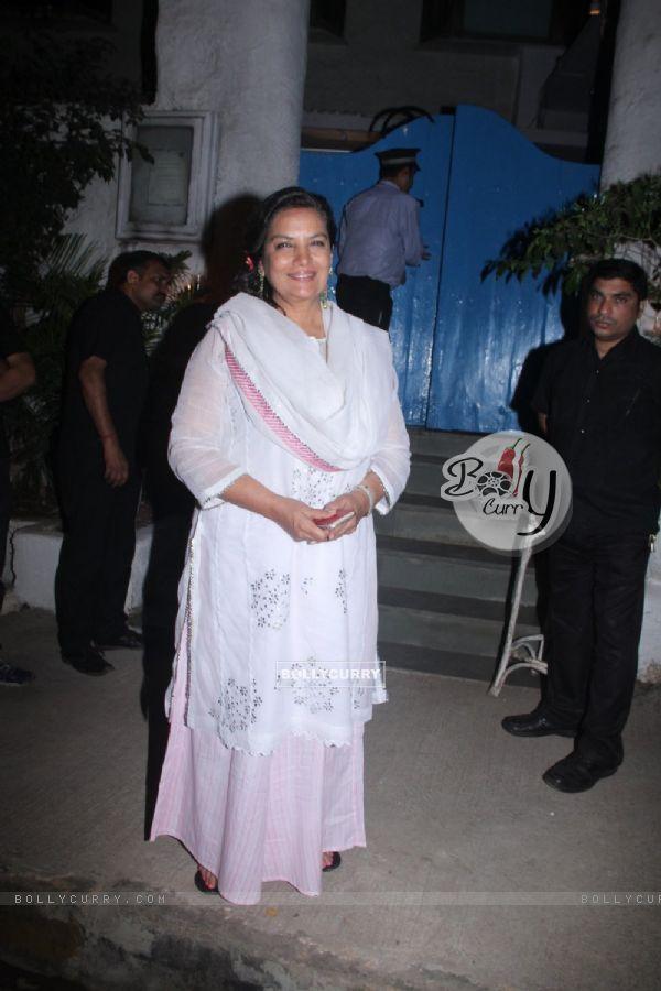 Shabana Azmi at 'Neerja' Bash at Olive