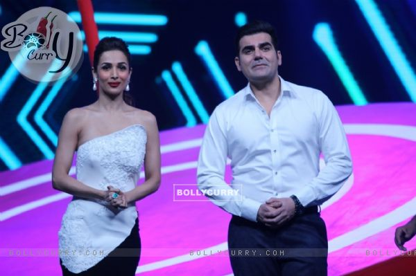 Arbaz Khana and Maliaka Arora Khan in Power Couple