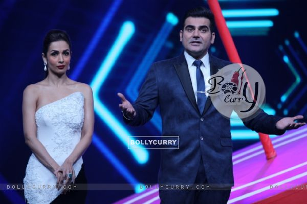 Arbaz Khana and Malaika Arora Khan in Power Couple