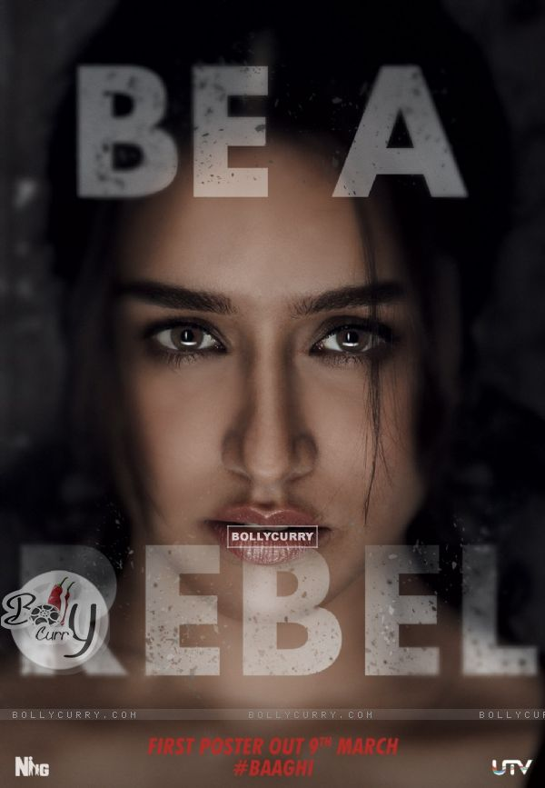 Teaser Poster of Baaghi Starring Shraddha Kapoor (398601)