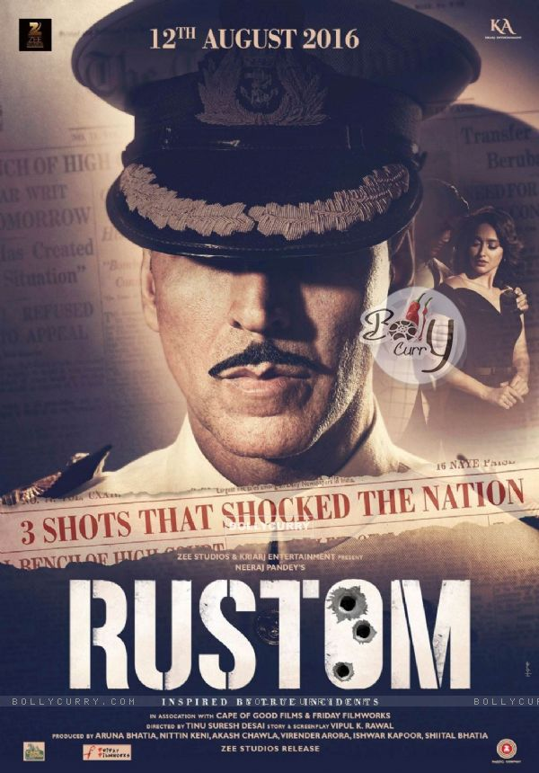 First Poster of Akshay Kumar in and as Rustom
