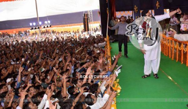 Abhishek Bachchan inaugurates the Spandan Festival at the Benaras Hindu University