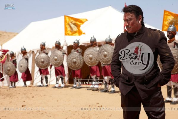 Jackie Shroff in the movie Veer (39872)