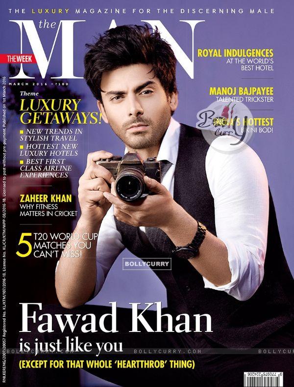 Fawad Khan on 'The Nan' Magazine Cover