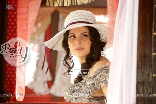 Zarine Khan looking emotional (39879)