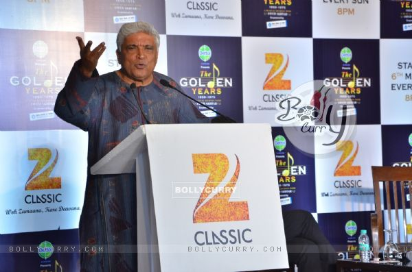 Javed Akhtar at  Launch of The Golden Years: A musical journey with Javed Akhtar