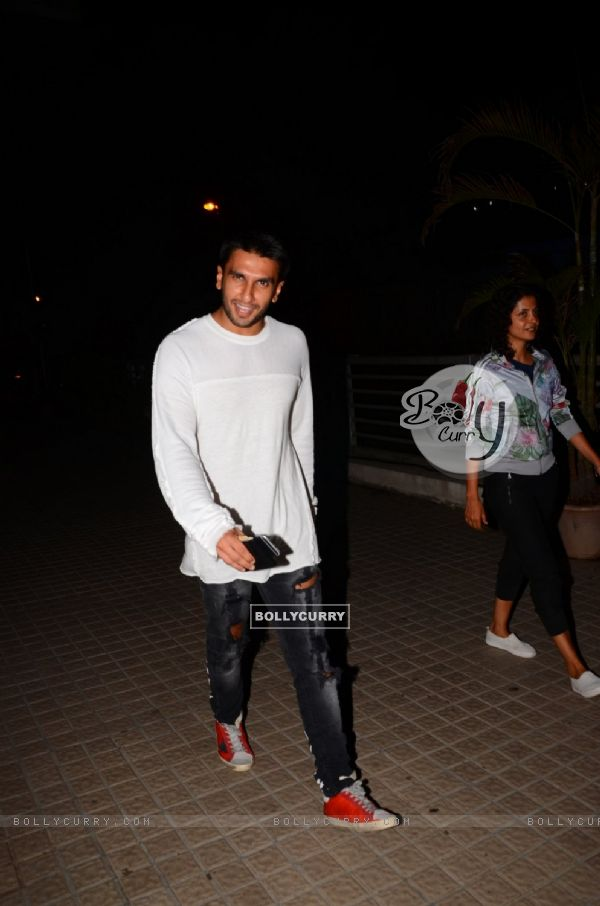 Ranveer Singh Snapped at PVR