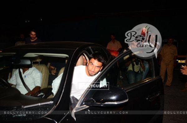Ranveer Singh Snapped at PVR