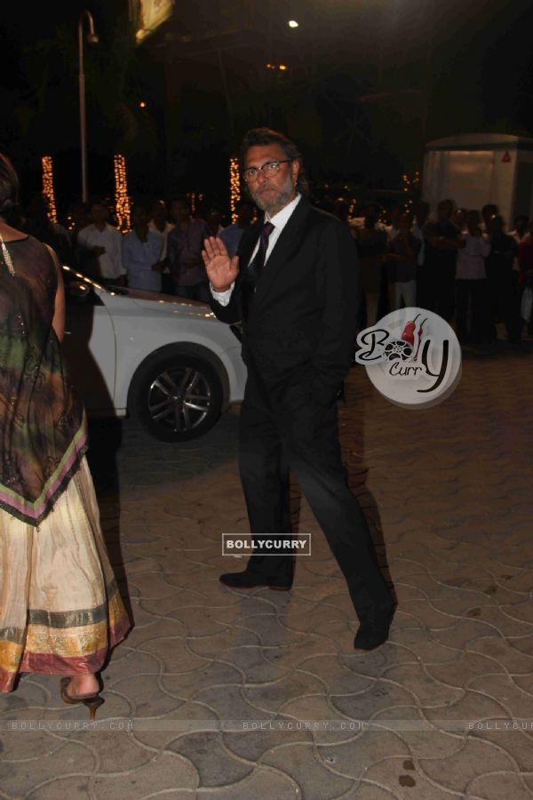 Rakeysh Omprakash Mehra at Kresha Bajaj's Wedding